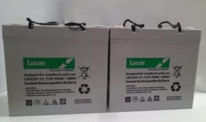 Invacare ARROW Mobility Batteries