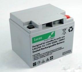 Invacare Auriga Mobility Batteries