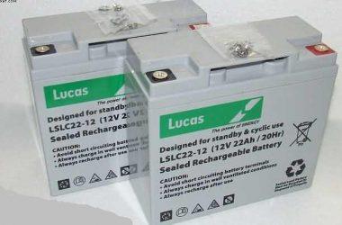 Kymco Mobility-Mini- For-U-12V Batteries
