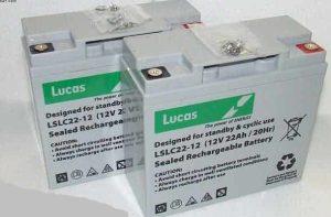 Scootmart-Luggie-VAT FREE-22Ah batteries-x2