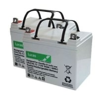 TWO LUCAS 34Ah VAT FREE-Batteries