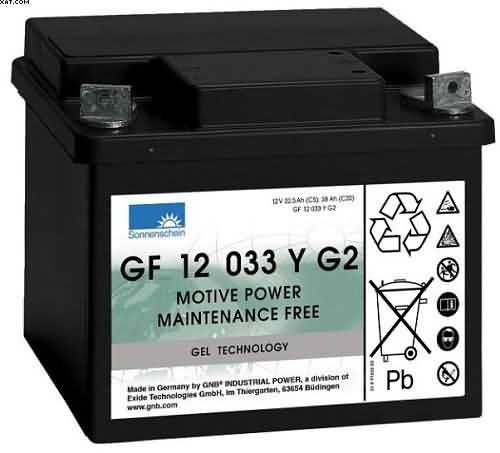 GF12033YG2 SONNENSCHEIN gel cell batteries