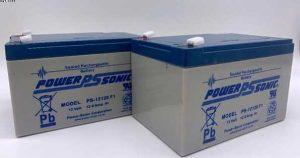 CTM Homecare HS-235-VAT FREE Batteries-12AH X 2