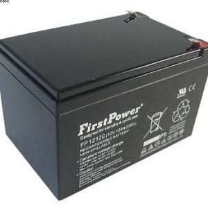 12v 12AH FirstPower Quality Batteries x 2