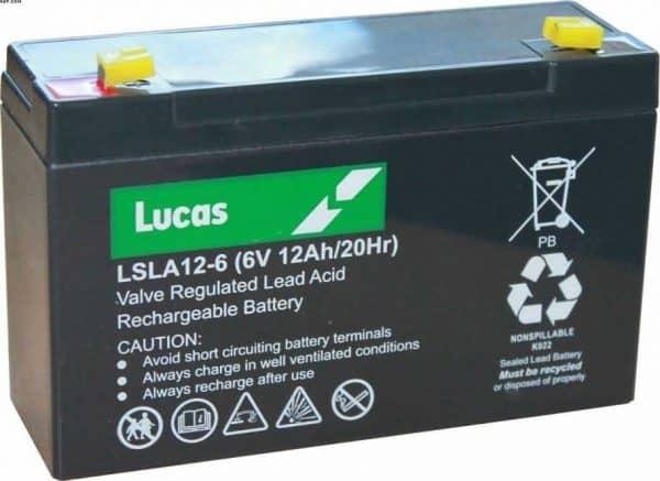 Everest-Jennings 153302008 6V 12Ah VAT FREE Battery