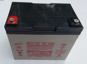 12Volt 33Ah x 2 Mobility Scooter Batteries-VAT Free